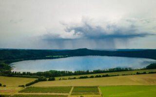 Laacher See von oben