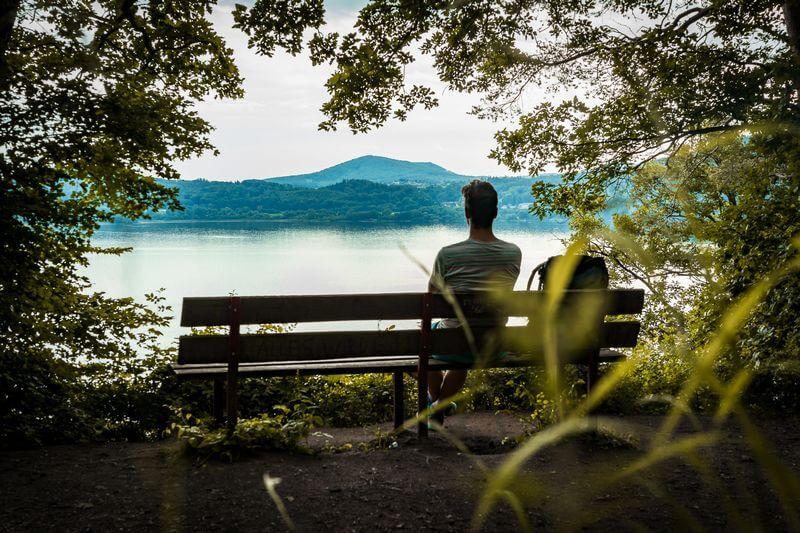 Oberer Aussichtspunkt Am Laacher See