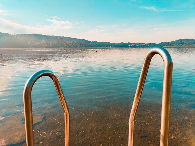 Bedebereich im Norden des Laacher Sees