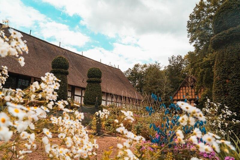 Bauernhof im Freilichtmuseum Detmold