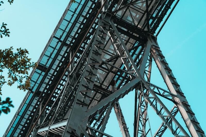 Müngstener Brücke von unten