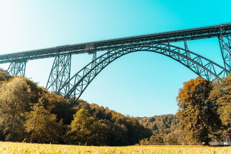Rundbogen Müngstener Brücke