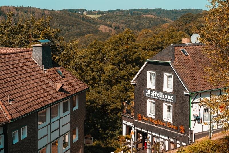 Waffelhaus am Schloss Burg